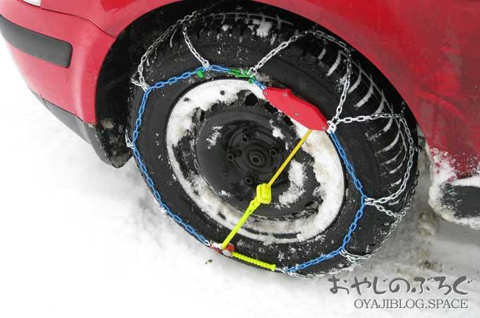 長野はスタッドレスタイヤは必需品ですがタイヤチェーンも有れば