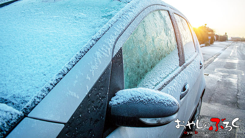 信州の冬と暖機運転
