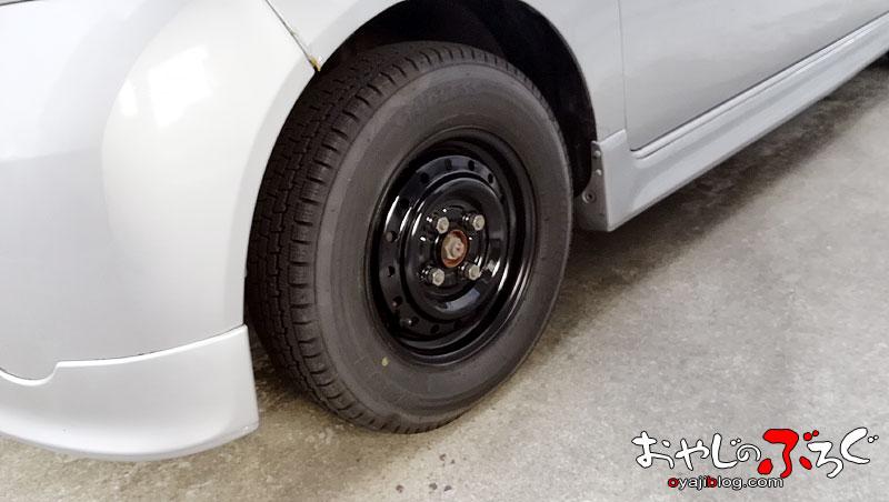 そろそろ長野市でもスタッドレスタイヤが必要になりそうですね。